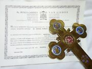 ✝ Reliquary Relic 1st Class St. Mark The Apostle And Evangelist + Document