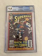 Superman 50 Rare Variant- Cgc 9.8 White Pages