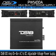 Ds18 Pws100a 100a Power Supply Adjustable Voltage Battery Converter Transformer