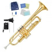 Yamaha Ytr-2330 Bb Trumpet Gold Lacquer [with Silent Brass Value Package] O111