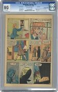 Amazing Fantasy 15 Cgc Page 15 Only -ng- 1962 Stan Lee 1st Spider-man Appearance