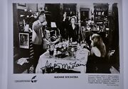 Shirley Maclaine Signed 8x10 Photograph From Madame Sousatzka Movie Collectible