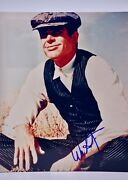 Warren Beatty Signed 8x10 Photograph From Bonnie And Clyde Film - Collectible