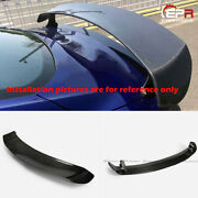 For Ford 15-17 Mustang Carbon Fiber Srd Style Rear Trunk Gt Spoilers Wings Trim