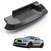 20xcar Wireless Charger Mount For Ford Mustang 2014-2019 Qc 3.0 Fast Charging