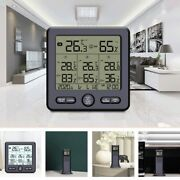 5xmultifunctional Wireless Thermometer And Hygrometer Indoor Outdoor