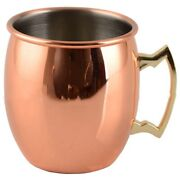 20xstainless Steel 304 Copper Plated Beer Mug Cocktail Glass Juice