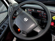 For Volvo Vnl 630 00-18 Black Leather Steering Wheel Cover Choose Color Stitch