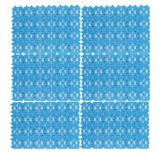 10x6-pack Pet Mat For Bunny Rabbit Cage Plastic Heart Hole