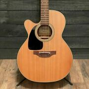 Takamine Pro P1nc-lh Left-handed Acoustic-electric Guitar W/ Case