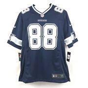 New Nike On Field Nfl Dallas Cowboys Dez Bryant 88 Jersey Mens Size Large L Rep