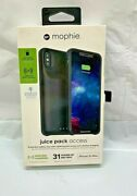Mophie Juice Pack Access Battery Case For Apple Iphone Xs Max - Black New