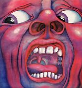 King Crimson In The Court Of The Crimson King Orig Uk 1969 A 3 And B 3
