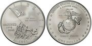 2005-p Pr70 Dcam Slab By Icg 230th Anniversary Of The Marine Corps 90 Silver.andnbsp