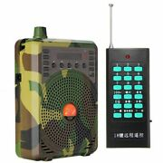 5xhunting Decoy Calls Electronic Bird Caller Camouflage Electric Hunting