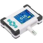 10xdioxide Detector With Rechargeable Battery Portable Co2 Meter Tester Air