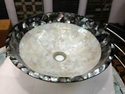 15 Inches Marble Bar Counter Top Unique Restaurant Sink With Mop Random Work