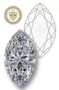 Gia Certified Marquise Cut 1.02-ct K-color I2-clarity 1.87-ratio