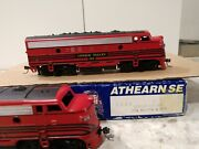 Athearn S.e. Special Edition 2204 Lehigh Valley F7a 576 And 578 Engines