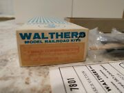 Walthers Model Wooden Railroad Kit 6601, 80' Observation Car Kit, Ready To Build