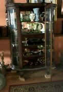 Antique Curio Cabinet And All Contents
