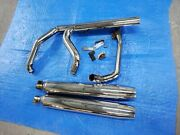 Harley Davidson Touring Exhaust Header And Mufflers Oem 2013 P/n 66855-10a...