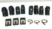 X8 Leather Spray Holdersx2 Leather Belt Keepersx3 Leather Belt Loop