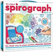Playmonster Spirograph Deluxe Art Set - Color And Create
