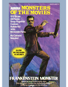 Aurora Frankenstein Monsters Of The Movies 1/12 Scale Resin Cast Kit With Box