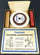 Sears Craftsman Polishing And Buffing Set Cat. 9-2864 Vintage With Box 1950s Old