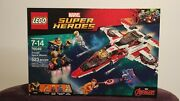 Lego Marvel Super Heroes 76049 Avenjet Space Mission W/ Special Thanos Ironman