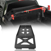 Truck Bed Luggage Cargo Rack W/ Hi-lift Jack Mount For 2007-2013 Toyota Tundra