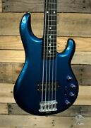 Music Man Bfr Stingray Special 5 H Bass Guitar Kinetic Blue W/ Case