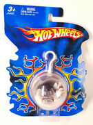 Hot Wheels Micro 2005 Holiday Christmas Ornament Pick Up Truck Flames