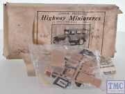 C-217 Jordan Highway Miniatures Ho 187 A Ford Station Wagon Kit Pre-owned
