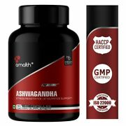 Amalth Ashwagandha Root Extract Powder 5 Withnolides Piperine 500mg Caps