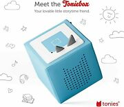 Toniebox Starter Set Light Blue And Creative Tonie For Boys And Girls - New