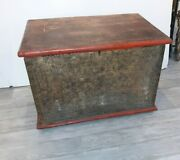 Antique Burmese Large Asian Red And Gold Thai