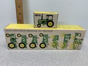 Boxes Only For 8 Vintage Ertl John Deere Miniature Toy Tractors W