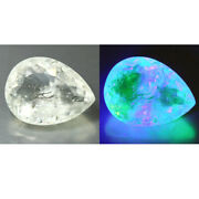 7.27 Cts Antique 100 Natural Untreated Mexican Uv Color Change Hyalite Opal