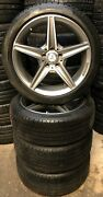 4 Orig Mercedes-benz Complete Amg 225/45 R18 95h C-class W205 S205 A205401