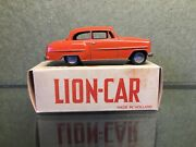 Very Rare Jefe Spain Lion Toys Car Old 1956 Opel Record - Rekord Olympia