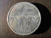 1976 Montreal Olympic 10 Dollar Coin Soccer [ Worn] Die Strike Problem