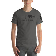 This Is A Tool I Am The Weapon 50 Cal Bmg Ar Bald Eagle 15 Ak 47 Unisex T-shirt