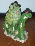 Frog Follies Collectibles Figurine 1999 Resin Character 4 1/2 Inches Tall
