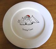Merry Masterpieces Sandy Claws Pyramids 2 Set Christmas Dinner Plates Humor