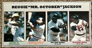 Reggie Jackson Montage Poster Sports Illustrated Si Like - A's Yankees Orioles