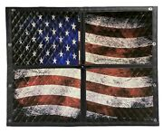 Kenworth W900b Premium Quilted Winter Front Old Glory
