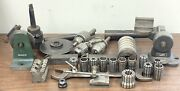 Large Lot Of Machinist Tools - Grinding Fixtures - Diamond Dressing Tool