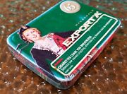 Vintage Macdonald Export And039aand039 65 Year Anniversary Tin Cigarette Container Tartan